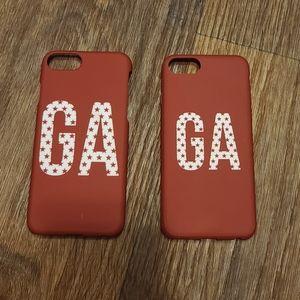 Good American GA logo iPhone Case
